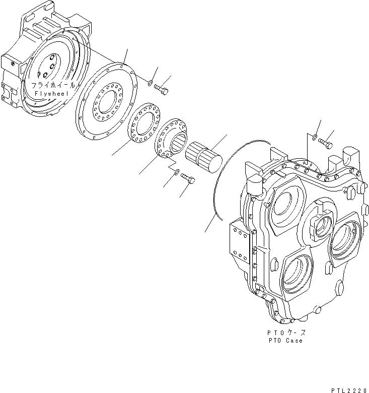 07000-E5500 Komatsu ПРОКЛАДКА ТИП