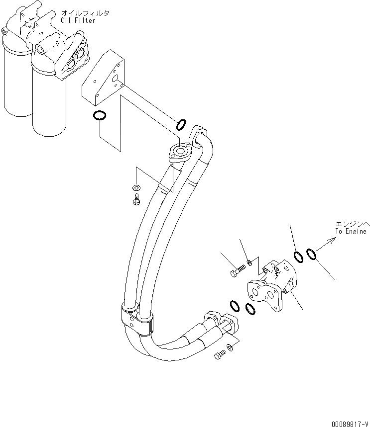 209-01-41211 Komatsu БЛОК
