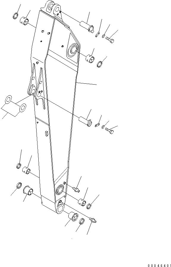 209-944-5240 Komatsu ПРОКЛАДКА