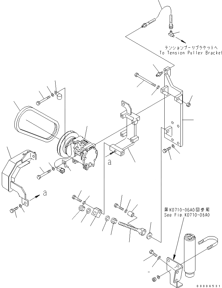 11T-61-19430 Komatsu ШЛАНГ