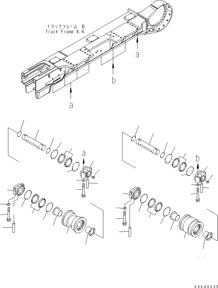 01011-62755 Komatsu БОЛТ 27ММ