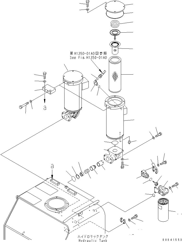 209-60-77532 Komatsu ФИЛЬТР ВОЗДУШНЫЙ