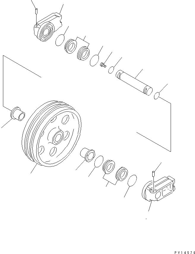 20Y-30-00110 Komatsu КОЛЬЦЕВОЕ УПЛОТНЕНИЕ