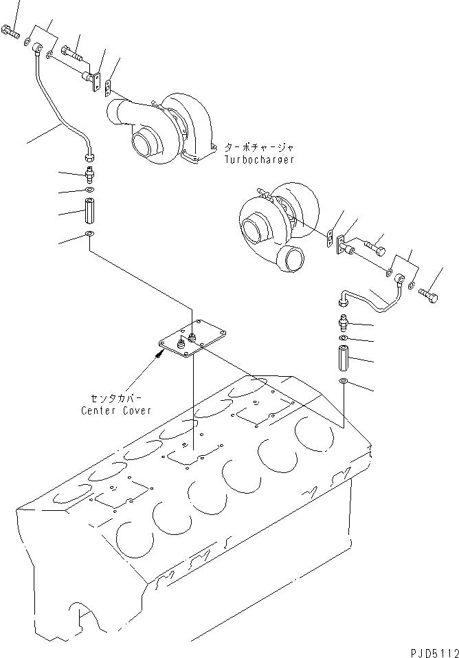 07211-51016 Komatsu НИППЕЛЬ