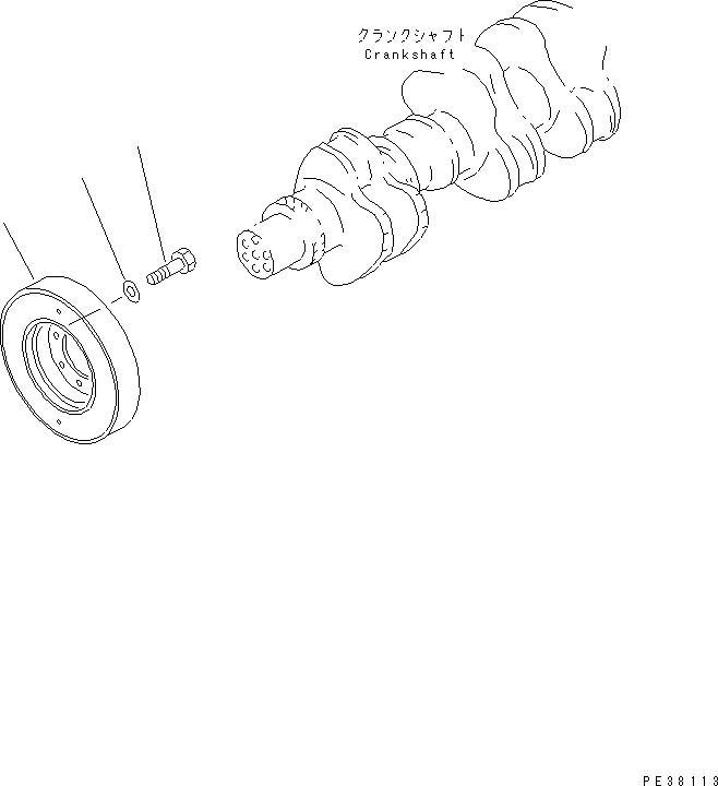 6211-32-8300 Komatsu ДЕМПФЕР