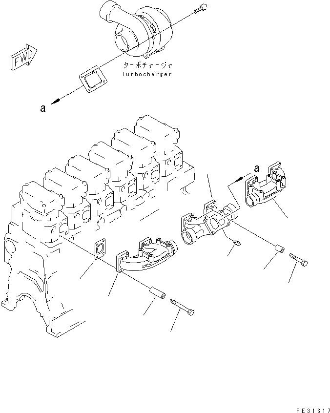 07042-20108 Komatsu КОМПЕНСАТОРНАЯ ЗАГЛУШКА