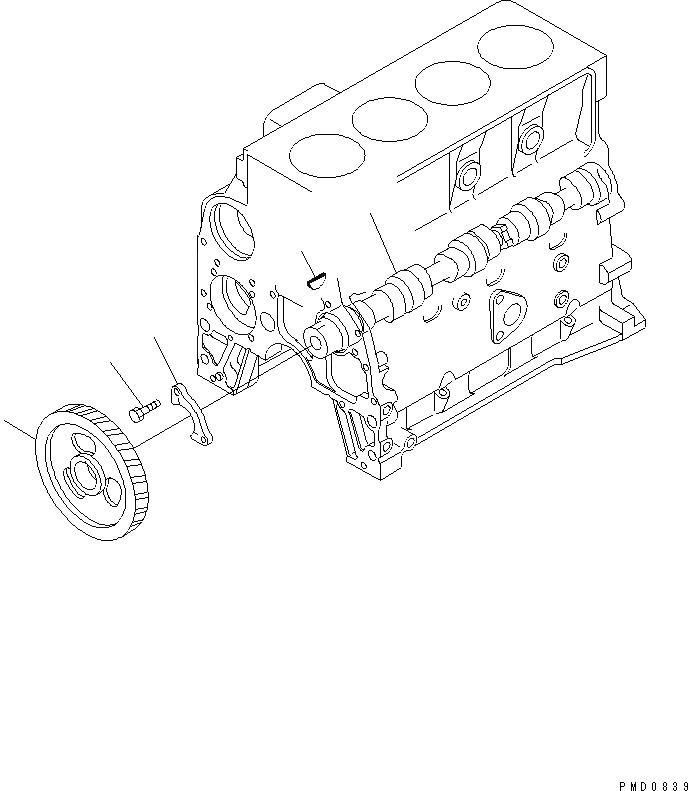 6732-41-1260 Komatsu БОЛТ