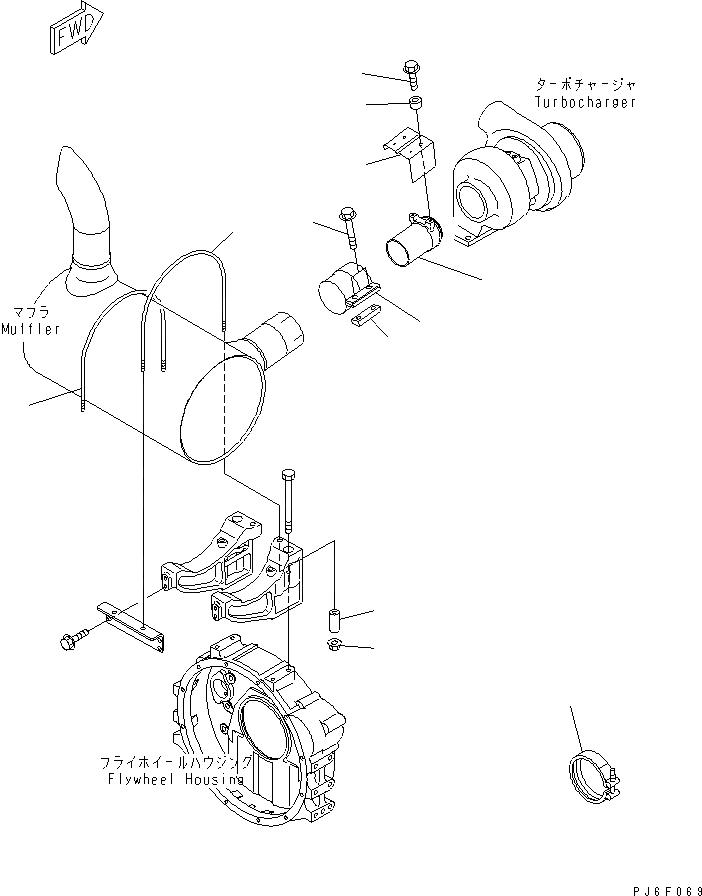 6738-11-5940 Komatsu БОЛТ