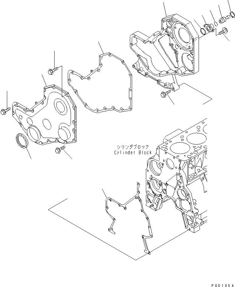6732-21-3880 Komatsu УПЛОТНЕНИЕ