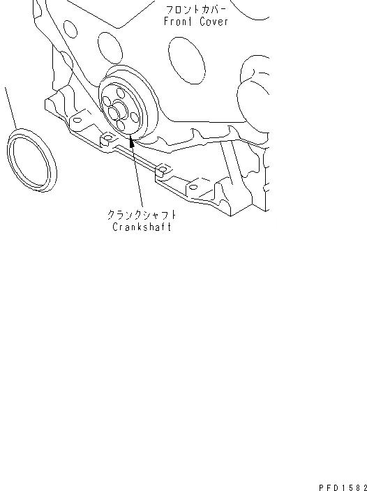 6731-81-8710 Komatsu ПЫЛЕЗАЩИТНОЕ УПЛОТНЕНИЕ