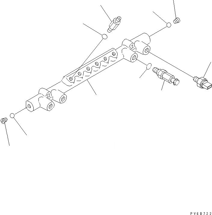 ND095420-0140 Komatsu РЕДУКЦИОННЫЙ КЛАПАН