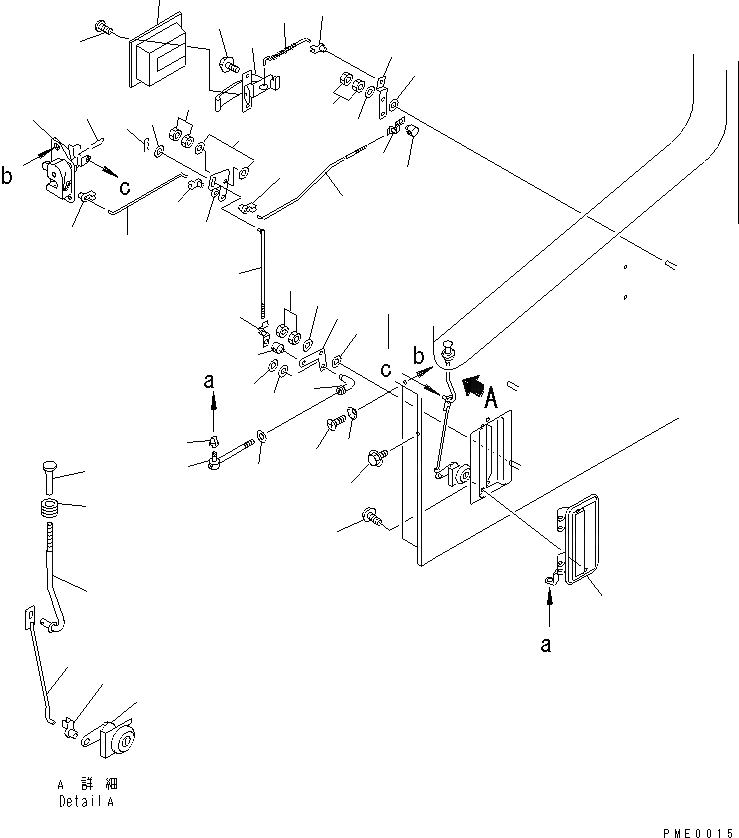 04256-40615 Komatsu МУФТА