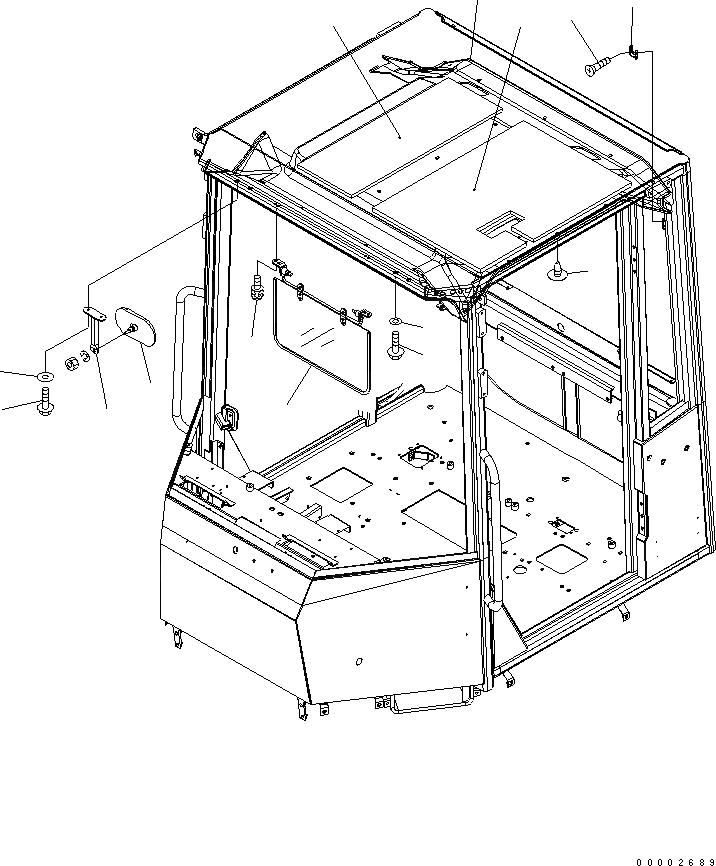01435-40620 Komatsu БОЛТ