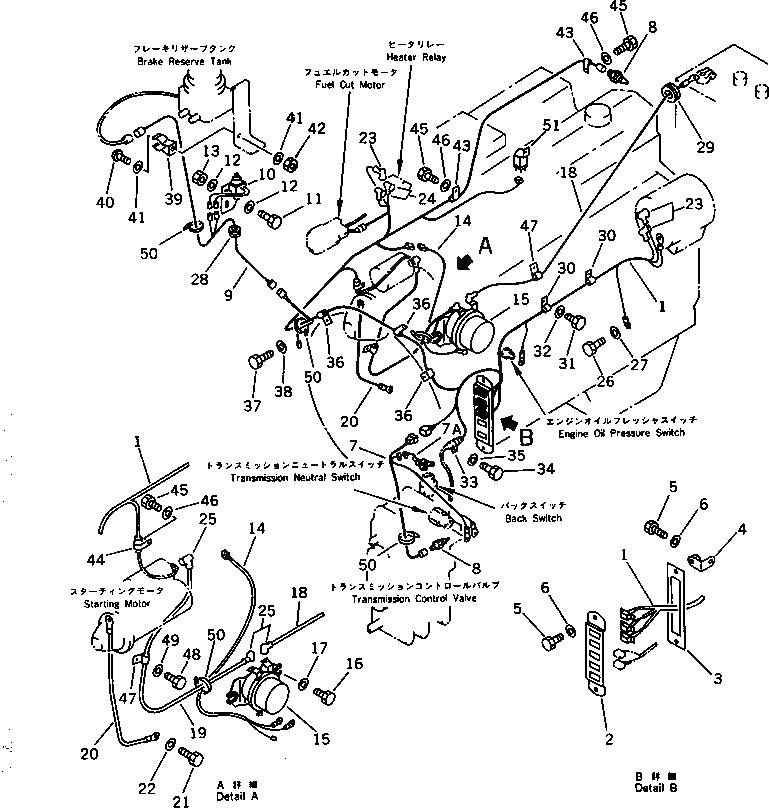 417-06-12420 Komatsu ЭЛЕКТРОПРОВОД