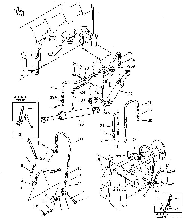07128-10600 Komatsu СОЕДИНЕНИЕ