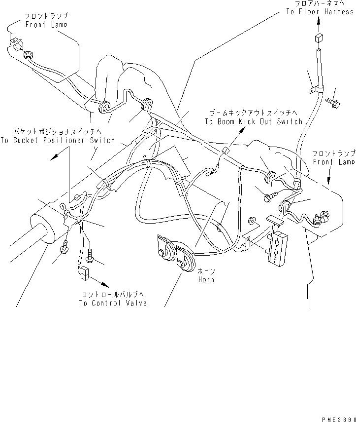 418-06-22111 Komatsu ЭЛЕКТРОПРОВОДКА