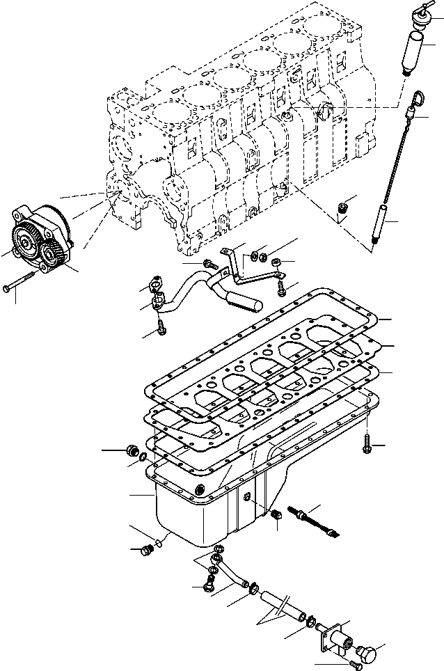 07206-21518 Komatsu СОЕДИНЕНИЕ