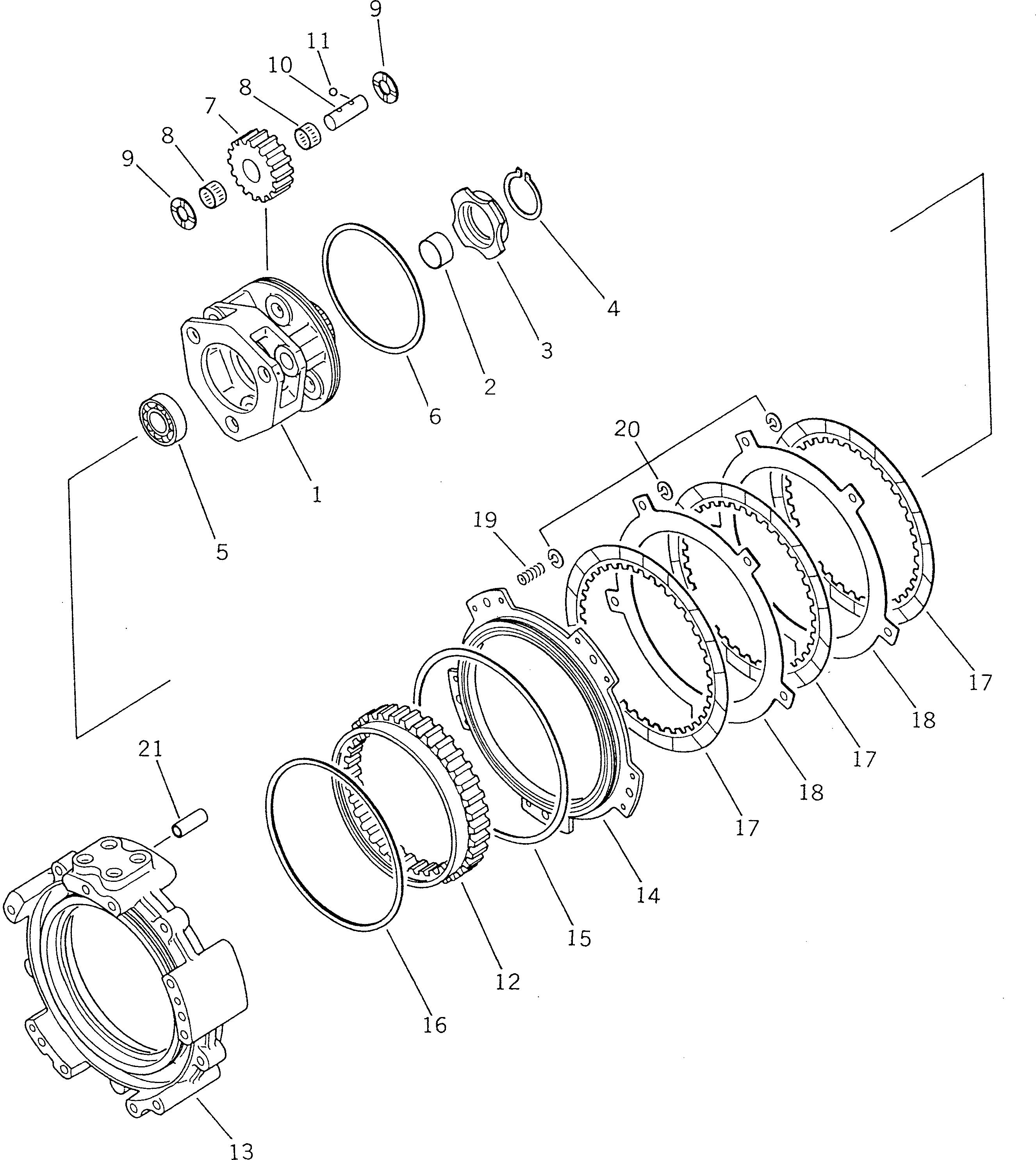 09233-12620 Komatsu ШАЙБА