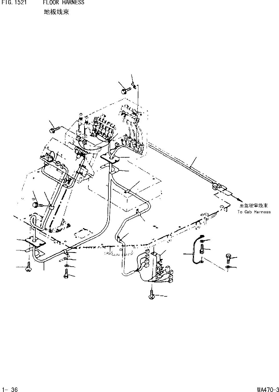 08028-12045 Komatsu КАБЕЛЬ