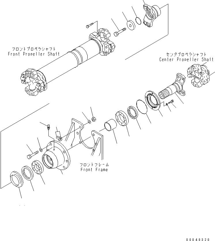 425-20-15730 Komatsu САЛЬНИК