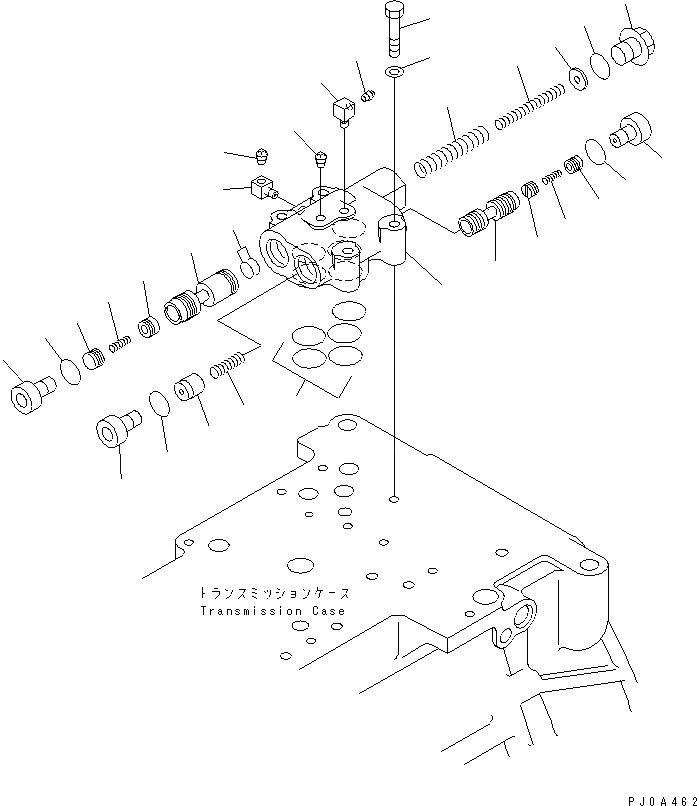 14X-15-16003 Komatsu КЛАПАН