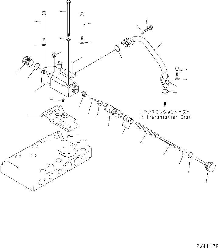 41E-15-15230 Komatsu КЛАПАН