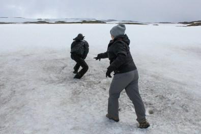 Śnieg na Oxi