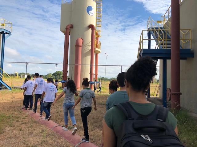 Cosanpa leva educação ambiental a alunos de escola municipal em Marabá