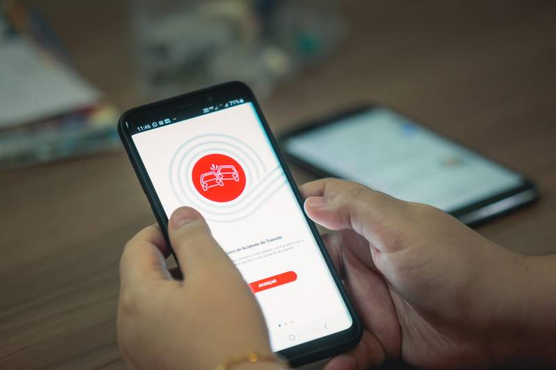 Aplicativo do Detran facilita o registro de acidentes pelo usuário