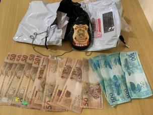 Polícia Federal apreende cocaína e mais de R$3 mil em dinheiro falso