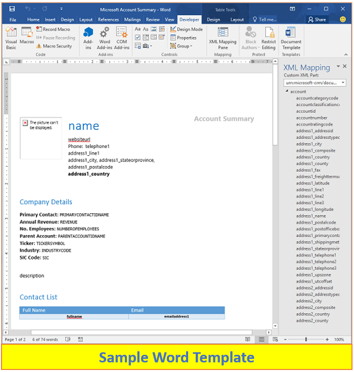 Scripting is a programming language in which the programs that are created are a collection of commands that are inferred and then executed one after another. Generating Multiple Word Pdf Documents From Word Template Using Workflow Capability Of Zap Report Scheduler App For Dynamics 365 Crm Ce Zap Objects