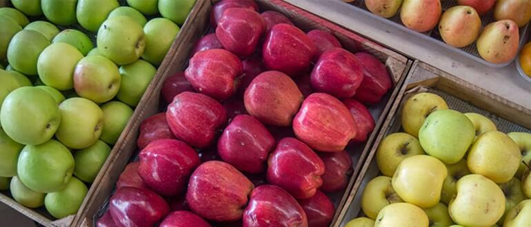 Яблоки от запора