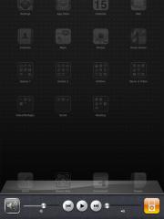 Multitasking and audio controls on iPad