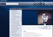 Internet Radio Pandora's new interface