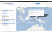 Landing Page for Google Alerts around the world