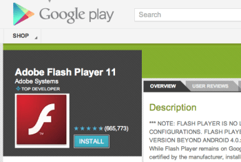 Android Flash Player RIP: How to Get it Now That it's Gone