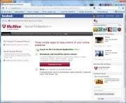 McAfee Social Protection App