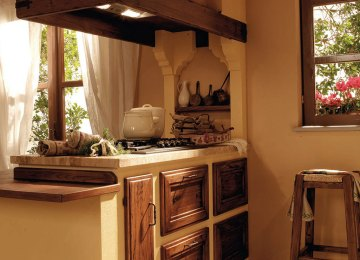 Cucine Country Chic | Cucine Country Chic Componibili In Legno ...