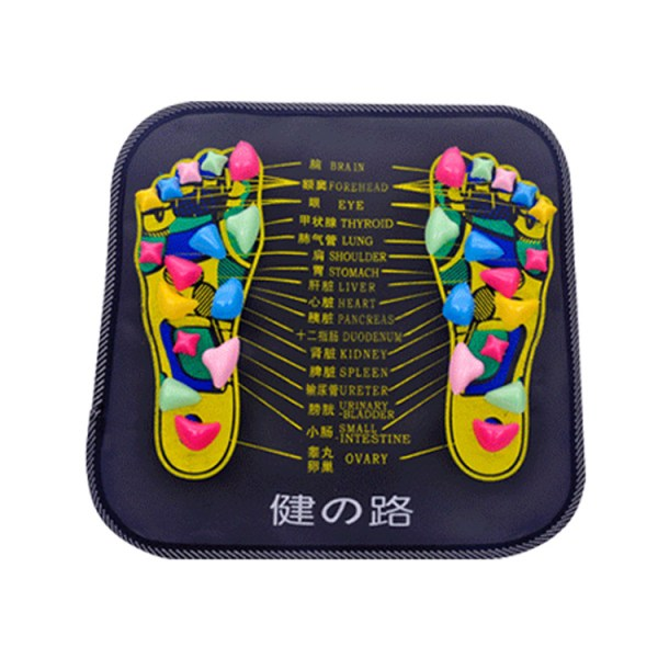 best quality foot pain relieving acupressure massage mat