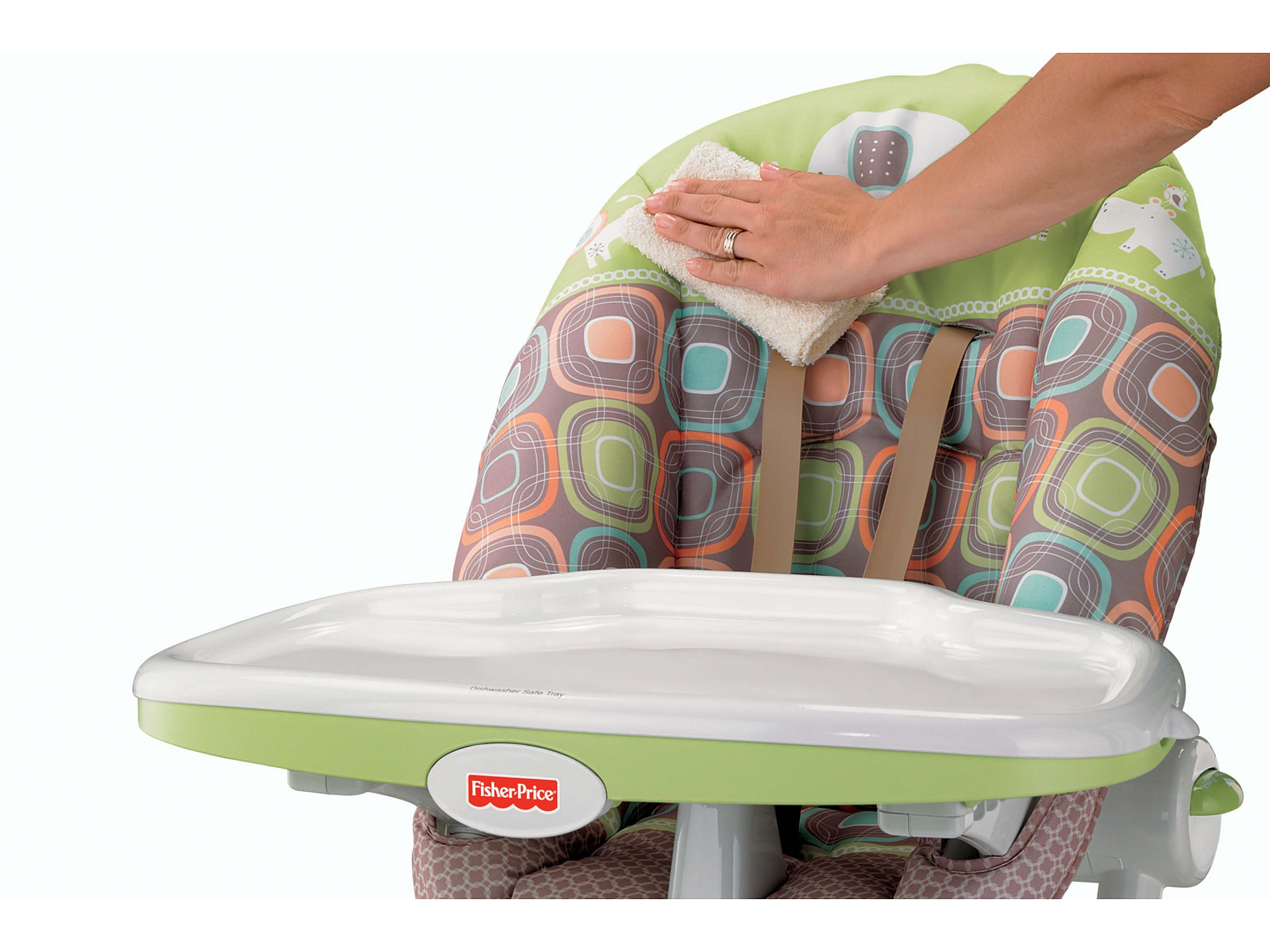 High Chair Fisher Price Fisher Price Ez Clean High Chair Coco Sorbet Zappos