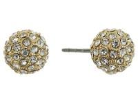 rebecca minkoff crystal ball stud earrings