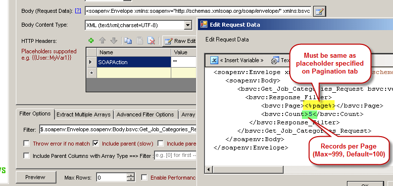 How to get data from Workday in SSIS using SOAP/REST API
