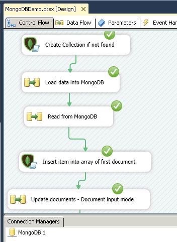 Ssis Loading Data Into Mongodb Upsert Delete Update Zappysys