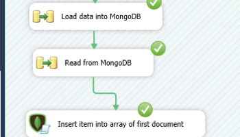 How to write MongoDB Aggregation Queries in SSIS (Group By