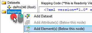Convert SQL table rows into JSON using JSON Generator Transform