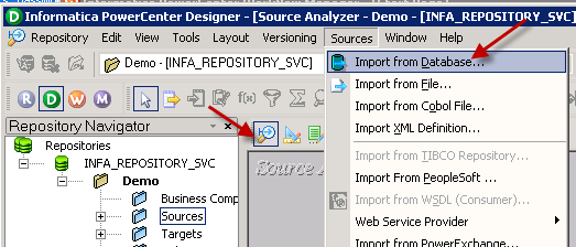Import JSON Source definition in Informatica Mapping Designer (JSON file or REST API)