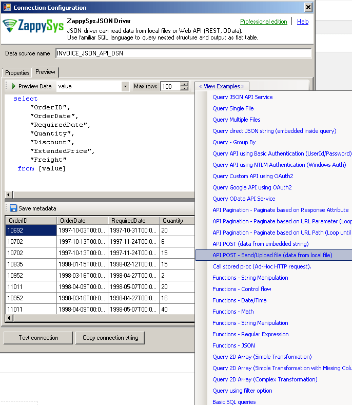 Read / Write REST API data in Talend (JSON / XML / SOAP) | ZappySys Blog