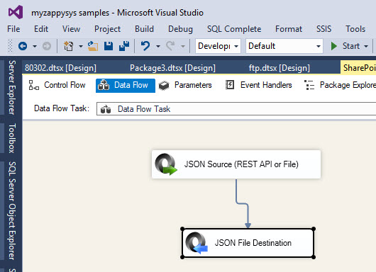 Calling SharePoint 365 REST API in SSIS | ZappySys Blog