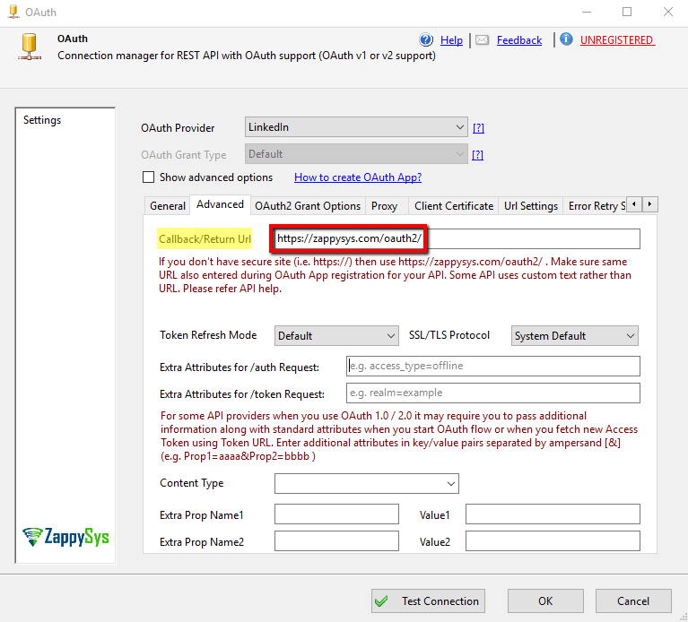 How to read LinkedIn data in SSIS - Call REST API / Load to