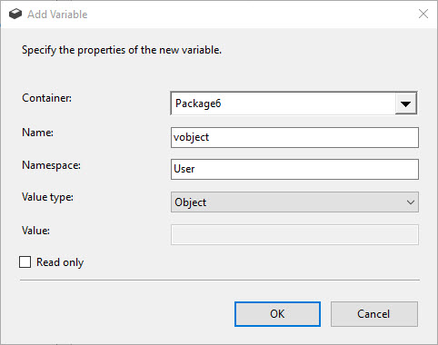 ssis object data type